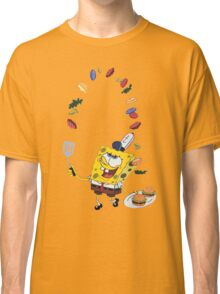 Spongebob and Krabby Patties Classic T-Shirt