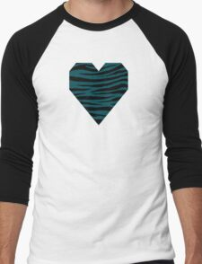 0430 Midnight Green or Eagle Green Tiger Men's Baseball ¾ T-Shirt