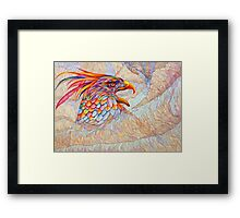 Raptor's Scream Framed Print