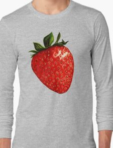 Strawberry Pattern Long Sleeve T-Shirt