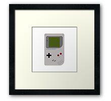 Retro Gameboy Framed Print