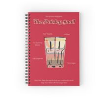 The Paisley Snail Poster Spiral Notebook