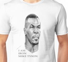 IRON MIKE TYSON SKETCHED T SHIRT Unisex T-Shirt