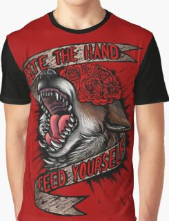 FEED YOURSELF Graphic T-Shirt
