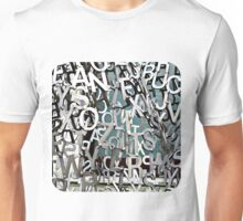 Alphabet Jumble  Unisex T-Shirt