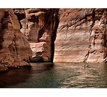 Paddling the Canyon Photographic Print