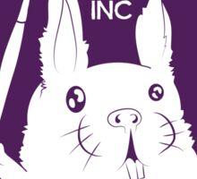 Hare Brush Inc Logo - Purple Sticker