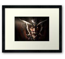 Concept 1 Devil Framed Print
