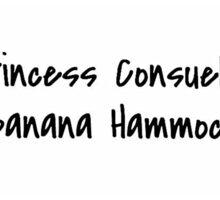 princess consuela banana hammock sticker Sticker