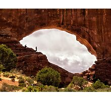 Arches Window - Arches National Park, Utah Photographic Print