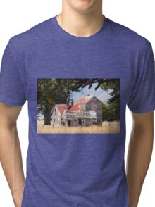 Old farm house. Tri-blend T-Shirt