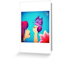 Magical Things Painting Greeting Card
