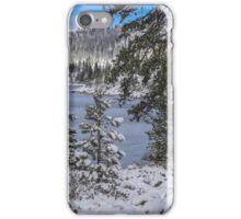Winter Wonderland - Lake Tahoe iPhone Case/Skin