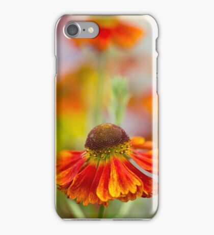 Colourful Springtime Flower Abstract iPhone Case/Skin