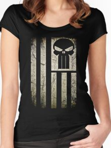 American Warrior  Women's Fitted Scoop T-Shirt