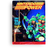Nintendo Power - May/June 1989 Canvas Print