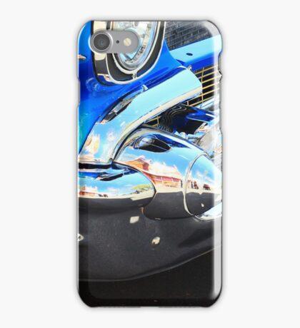 Blue Classic Car iPhone Case/Skin