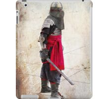 Eastern Warrior at RADCON SIFI Convention iPad Case/Skin