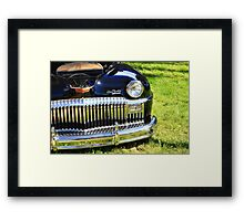 Classic old car Framed Print