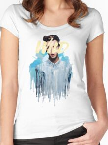 Troye Sivan Wild Blue Women's Fitted Scoop T-Shirt
