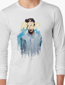 Troye Sivan Wild Blue Long Sleeve T-Shirt