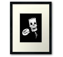 DELET THIS! Framed Print