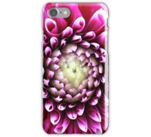Pink Petal Abstract Photography iPhone Case/Skin