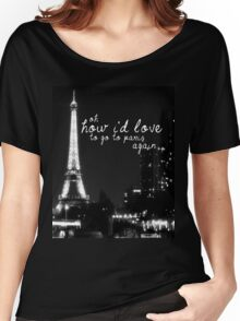 Paris- The 1975 Women's Relaxed Fit T-Shirt