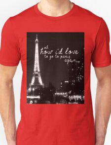 Paris- The 1975 Unisex T-Shirt