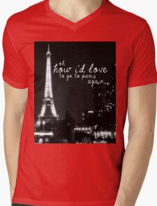 Paris- The 1975 Mens V-Neck T-Shirt