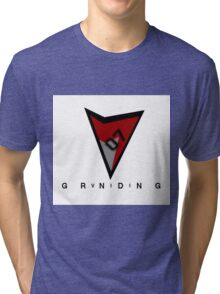 RetroVII07 X StylesOfGrinding Collaboration Tri-blend T-Shirt