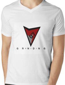 RetroVII07 X StylesOfGrinding Collaboration Mens V-Neck T-Shirt