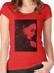 Perfect Pitch Black Women's Fitted Scoop T-Shirt