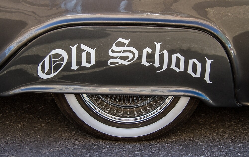Old School by Randy Turnbow