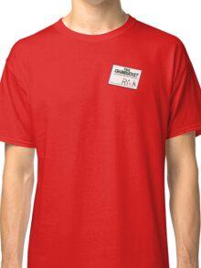 Rick Nametag - Spongebob Classic T-Shirt