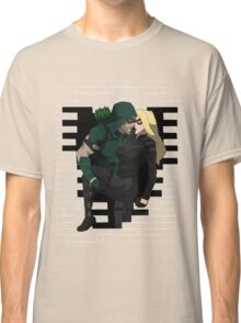 cw arrow and black canary Classic T-Shirt