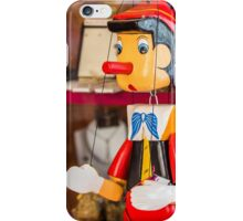 Pinocchio is Waiting iPhone Case/Skin