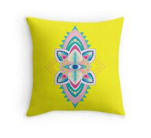 Tribal Eye Motif Throw Pillow