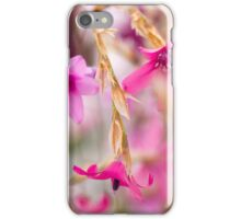 Pink Toned Spring Meadow iPhone Case/Skin