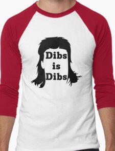 Dibs is Dibs Men's Baseball ¾ T-Shirt