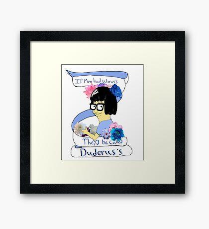 Inspirational Tina Framed Print