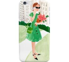 Sunday in the Park iPhone Case/Skin