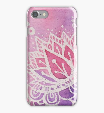 Sunset Lotus iPhone Case/Skin