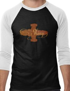 Shiny Serenity Firefly Art Men's Baseball ¾ T-Shirt
