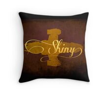 Shiny Serenity Firefly Art Throw Pillow