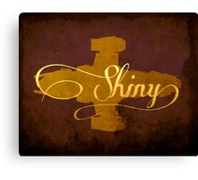 Shiny Serenity Firefly Art Canvas Print