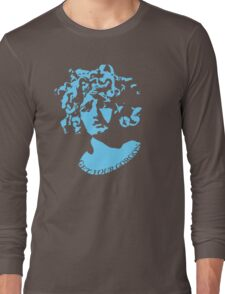 Gorgeous Gorgon (Blue) Long Sleeve T-Shirt