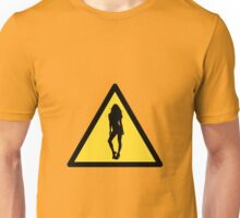 Danger : woman Unisex T-Shirt