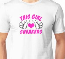 This Girl Love Sneakers Unisex T-Shirt