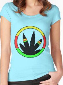 Rasta Ring Women's Fitted Scoop T-Shirt